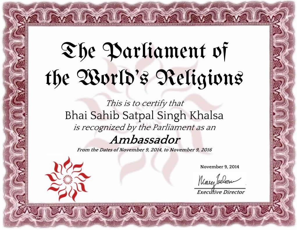bhai sahib satpal singh khalsa