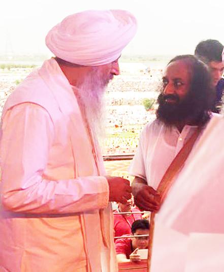 Singh sahib ji | sri sri ravi shankar